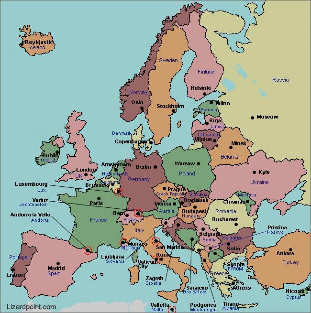 Karte Von Europa.Bukarest Karte Europa Karte Von Bukarest Europa Rumanien