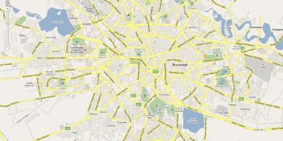 Karte Anzeigen.Bukarest Map Karten Bukarest Rumanien